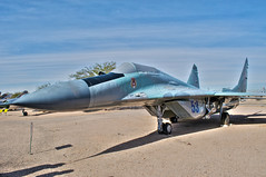 mikoyan-gurevich mig-29 fulcrum-a (Matt Ottosen) Tags: arizona museum airplane nikon raw tucson space aviation air pima single hdr mig29 d90 pimaairspacemuseum photomatix fulcrum mikoyangurevich pasm singleraw