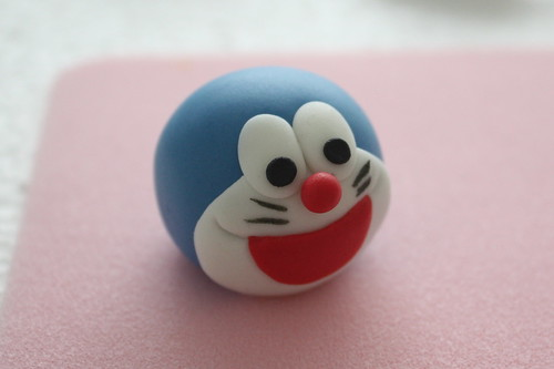 how to make fondant doraemon
