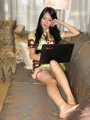 sexy girl on sofa (zikay's photography(no PS)) Tags: girl beauty model