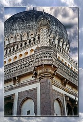 Qutub Shahi Dynasty (sir_watkyn) Tags: india monument architecture century canon interestingness tomb royal southern historical hyderabad 16th andhra soe qutub dynasty pradesh shahi abigfave colorphotoaward impressedbeauty flickrdiamond ysplix theunforgettablepictures sirwatkyn graphicmaster