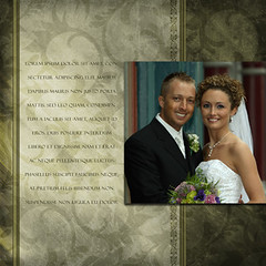 Brushed Grunge Pewter Wedding Photo Album (ashedesign) Tags: birthday christmas winter wedding portrait blackandwhite baby white holiday cute art halloween coffee collage kids digital photoshop scrapbook table fun photography photo spring adobephotoshop photos grunge birth books baptism albums backgrounds designs press psd printed weddinginvitations hanukkah photobooks actions announcements holidaycards kwanzaa nle photoshopaction birthannouncements birthdayinvitations seniortemplates photochristmascards layeredphotoshoptemplates pressprintedphotobooks layeredphotoshopfiles photoshopelementstemplates