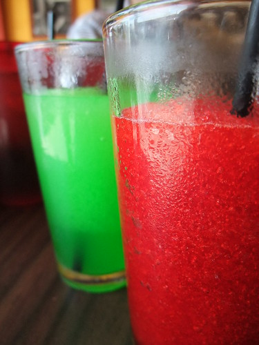 Cherry & Lime Slushies at Dirty Frank's
