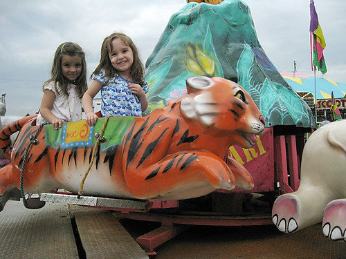 Westmoreland County Fair 2009:  Flying tiger.
