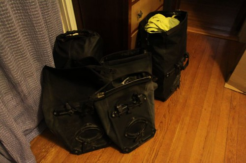 WT EQP: The Panniers (bike bags)