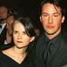 Keanu Reeves and Brenda Davis at the Oscars, 2000