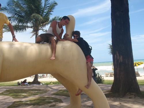 Perro gigante en Patong