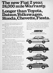 1978 Fiat advert