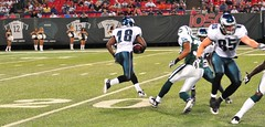Football: Jets-v-Eagles, Sep 2009 - 61