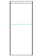 3 - Mark upper edge of pockets.