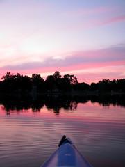 Autumn Sunsets (deu49097) Tags: autumn sunset kayak