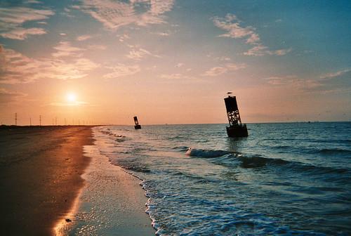 Holly Beach Sunrise