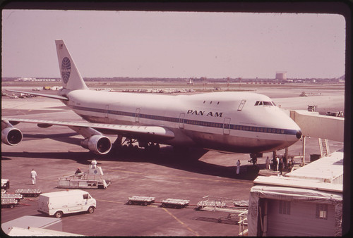 At the John F. Kennedy Airport 05/1973