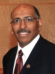 THINK ABOUT A MICHAEL STEELE / SARAH PALIN TIC...