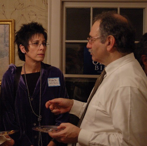 The Advocates' Board Member Roberta Walburn with host Jim Rubenstein