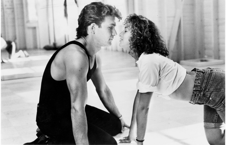 Patrick Swayze and Jennifer Gray in 'Dirty Dancing.
