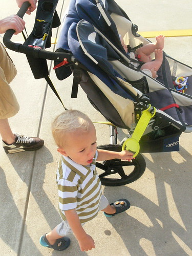 tagalong stroller handle