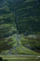 The last green field (- Ronski -) Tags: mountain scotland waterfall highlands side scree gully