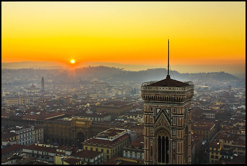 Florence sunset - Guarda altre foto su Firenze