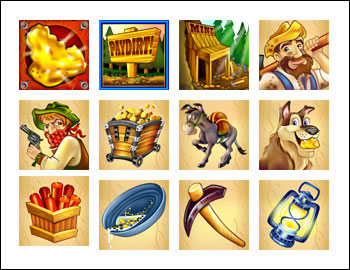 free Pay Dirt! slot game symbols