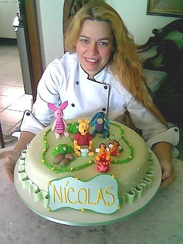 Bolo Ursinho Pooh/ Pooh  birthday cake