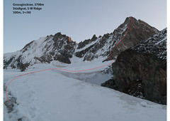 Grossglockner, Stüdlgrat - Alpinism in Austria