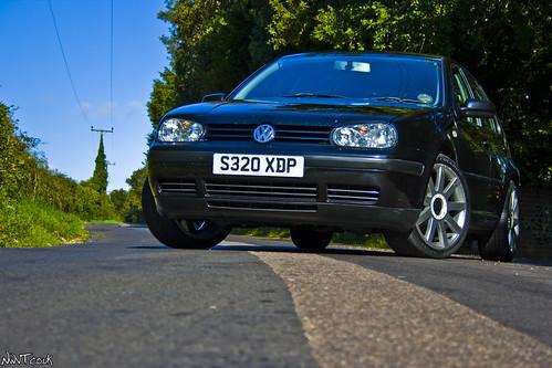 vw golf mk4 modified. Black VW Golf Mk4 1.6 Low