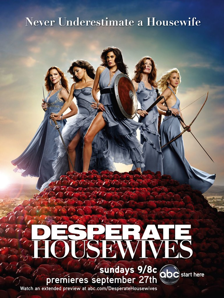 Desperate Housewives guerreras espartanas