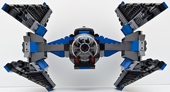 small 6206 tie fighter front (Big Cam crsx) Tags: starwars lego 6206
