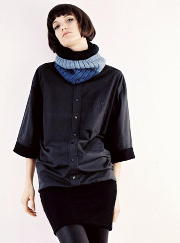 Vilde Svaner knit shirt jacket