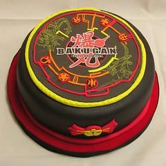 Bakugan (Mariana Pugliese) Tags: game cake rojo dragon negro amarillo juego cumpleaños naranja torta bakugan 241543903 marianapugliese