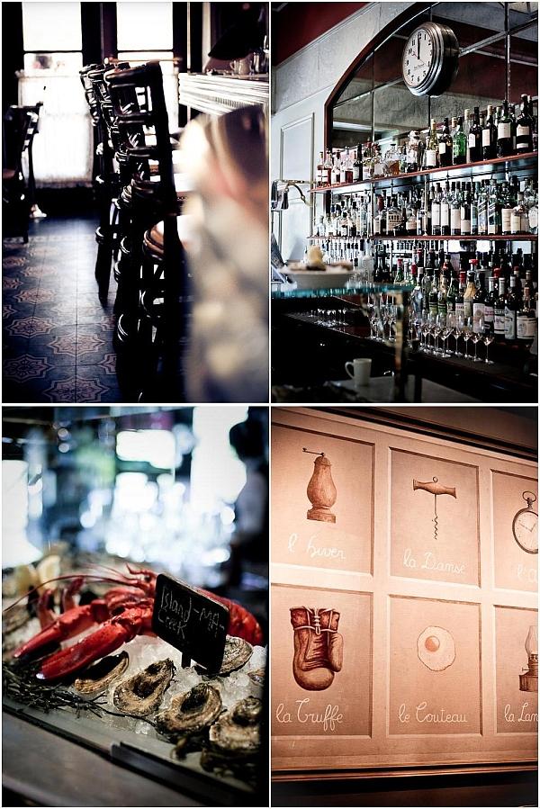 Inside Bouchon Restaurant