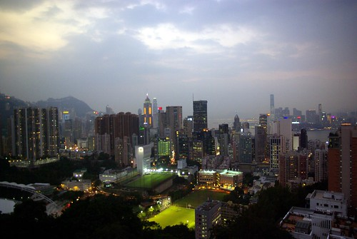 View of HK (from Tai Hang)