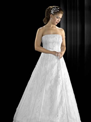 vestido lindo de noiva