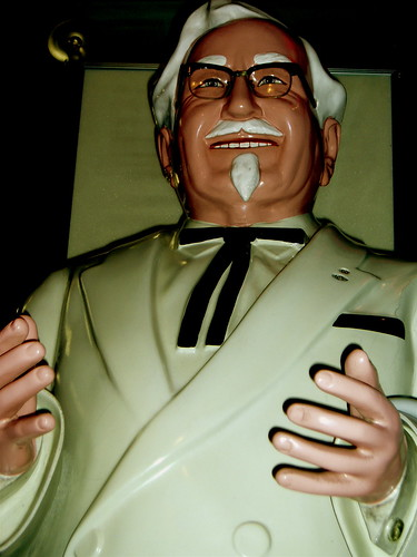 This is the scariest picture of the Colonel Ive ever seen.