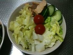 朝食サラダ(2011/5/9)