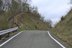 菅野盛里林道にある登り口