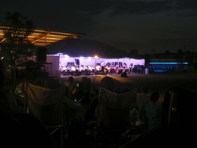Alabama Symphony performs at Railroad Park. acnatta/Flickr