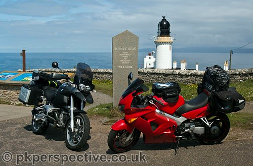 The bikes made it to the top of the country without a problem