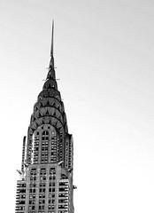 Chrisler Building (Linda {*nel mio giorno di dolore che ognuno ha*}) Tags: nyc newyorkcity blackandwhite bw usa newyork building top chrislerbuilding fotografinewitaliangeneration