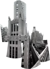 downtown balcony view (other etstar) Tags: nyc photomerge