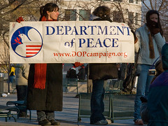 Department of Peace (pixelmasseuse) Tags: washingtondc pennsylvaniaavenue 44 departmentofpeace barackhusseinobama presidentobama inaugurationday2009