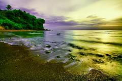 lost in reverie.. (Sir Mervs) Tags: longexposure sunset sea beach canon eos shoreline pk sir bicol pinoy uwa sorsogon mervs nd8 donsol 40d pampang kodakero pinoykodakero pinoykodakeros kodakeros sirmervs