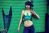 MAREy Jane (NatVon Photography) Tags: sanfrancisco city girl wall shirt female graffiti leaf model weed mare dancer jeans teen rave gogo brunette marijuana nikond80