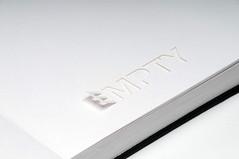 nothing2 (jori) Tags: black typography book design graphics jori cut grafik nothing nic rien showcase mitte nada nimic niets nichts niente ingenting joridesign