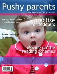 Pushy parents magazine