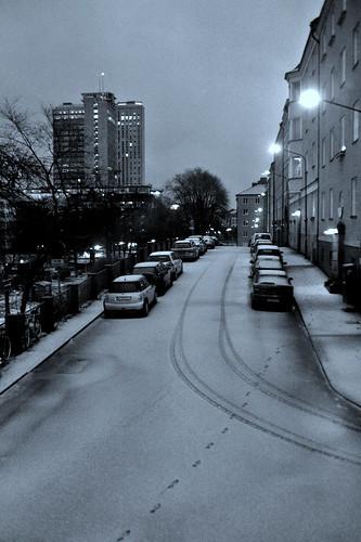 Winter morning in Stockholm (by PJRose)