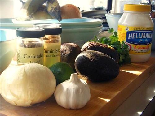 Guacamole Fixins