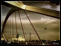 Puente de la Barqueta (Doenjo) Tags: españa andalucía sevilla hdr geotagged doenjo pentaxoptio33l retofs1 retofs2 retofs3 retofs4 retofs5 lmdd instagram