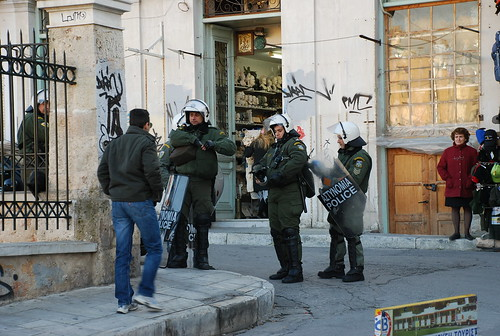 Riot Polices in Greece