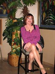 At the Palms (Scarlet Munro) Tags: sexy scarlet tv legs cd polkadots transvestite trans crossdresser outandabout crossdress tgurl lno scarletmunro